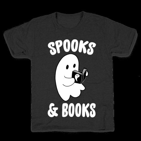 Spooks and Books Kids T-Shirt