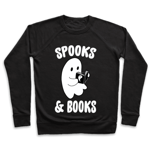 Spooks and Books Pullover