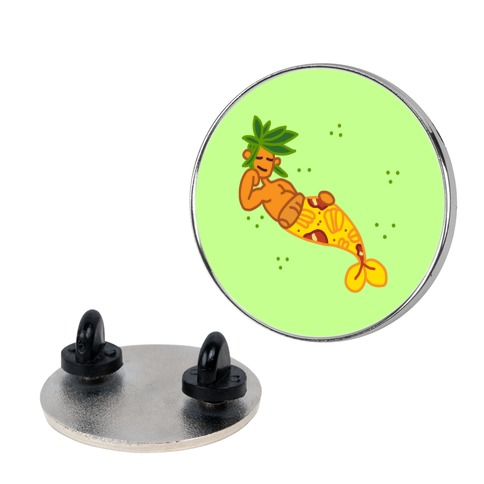 Brineapple Pizza Mermaid Pin