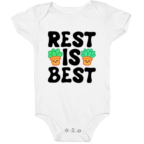 Rest Is Best Baby One-Piece