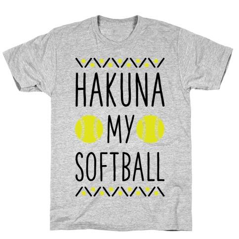 Hakuna My Softball T-Shirt
