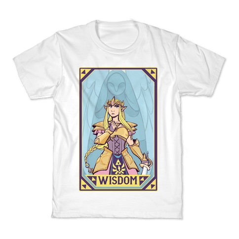 Wisdom - Zelda Kids T-Shirt