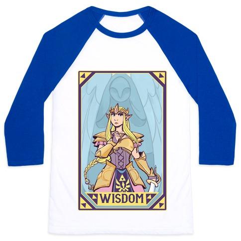 Wisdom - Zelda Baseball Tee
