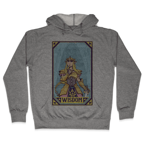 Wisdom - Zelda Hooded Sweatshirt