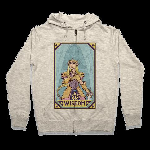 Wisdom - Zelda Zip Hoodie