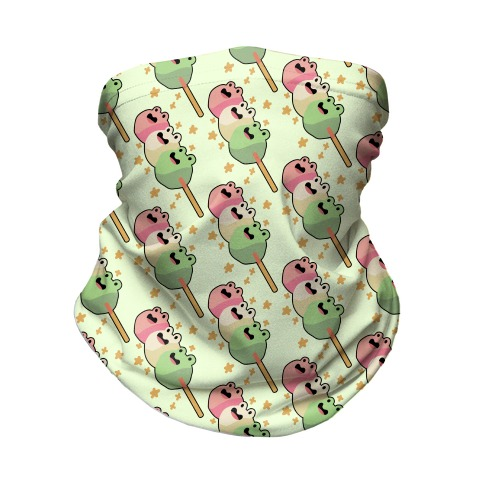 Frog Dango Neck Gaiter