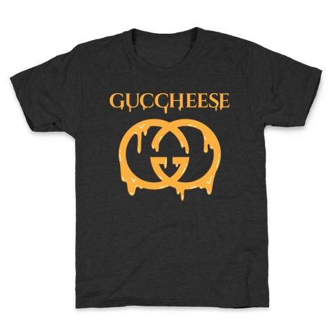 Guccheese Cheesy Gucci Parody Kids T-Shirt
