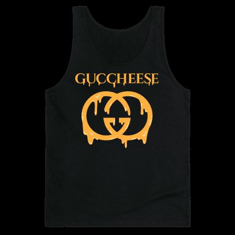 Guccheese Cheesy Gucci Parody Tank Top