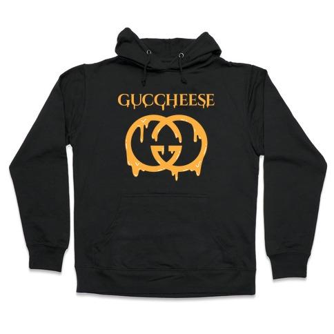Guccheese Cheesy Gucci Parody Hooded Sweatshirt