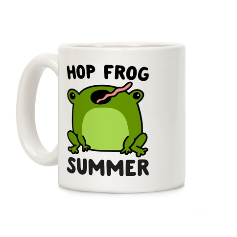 Hop Frog Summer Coffee Mug