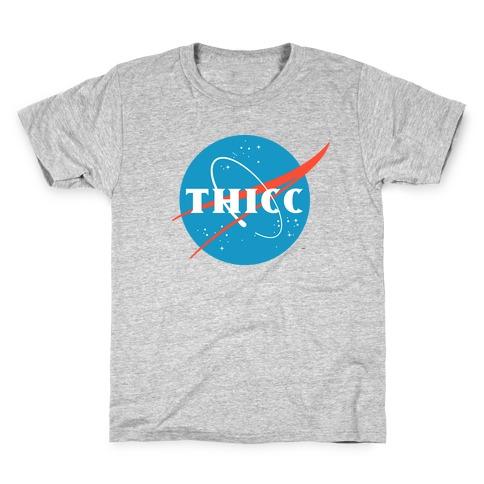THICC NASA Parody Kids T-Shirt