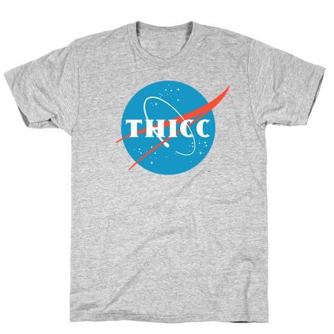 THICC NASA Parody T-Shirt