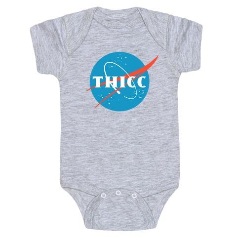 THICC NASA Parody Baby Onesy