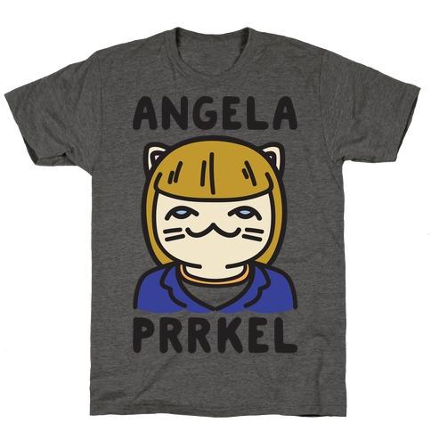 Angela Prrkel Parody T-Shirt