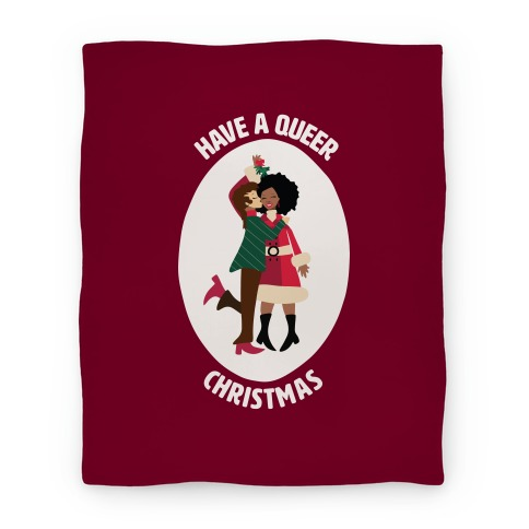 Have a Queer Christmas Blanket
