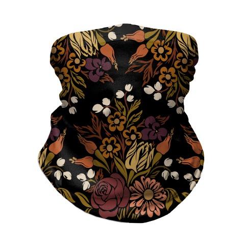 Boho Floral Bouquet Neck Gaiter