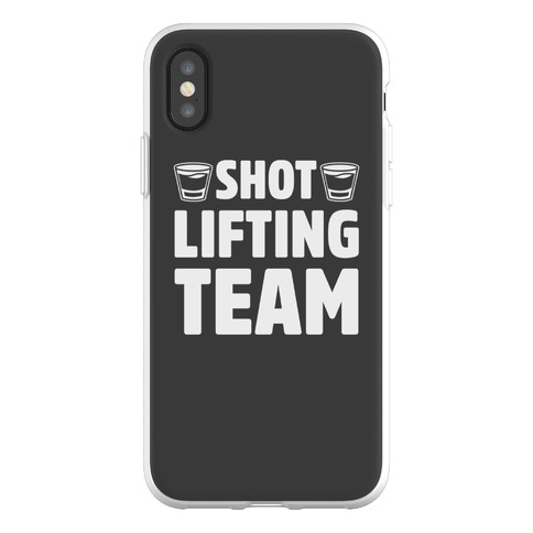 Shot Lifting Team Phone Flexi-Case