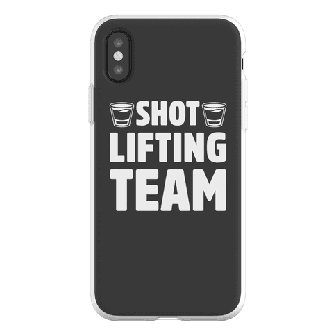 Shot Lifting Team Phone Flexi-Case