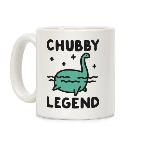 Chubby Legend Nessie Coffee Mug