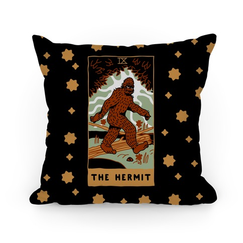 The Hermit (Bigfoot) Pillow
