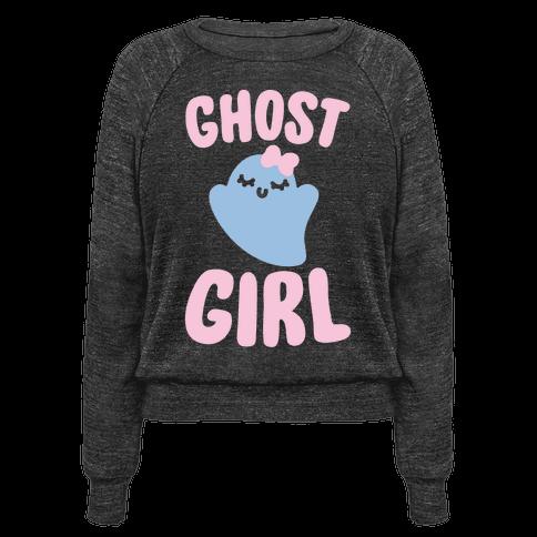 Ghost Girl White Print