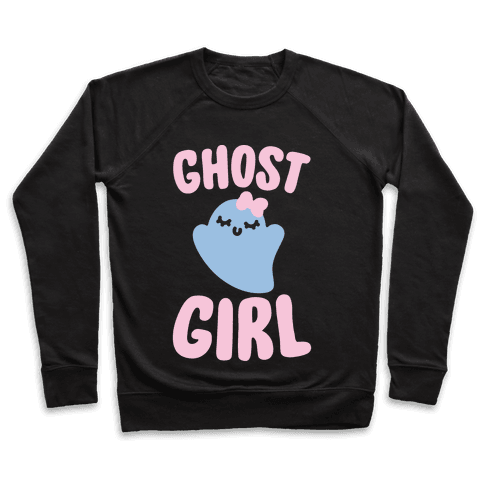 Ghost Girl White Print Pullover