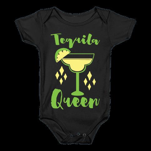 Tequila Queen Baby Onesy