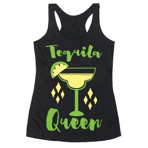 Tequila Queen Racerback Tank Top