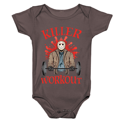 Killer Workout Baby One-Piece
