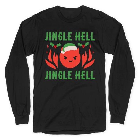 Jingle Hell, Jingle Hell Satan Santa Long Sleeve T-Shirt