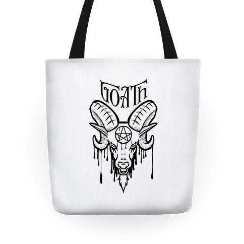 Goath (white) Tote