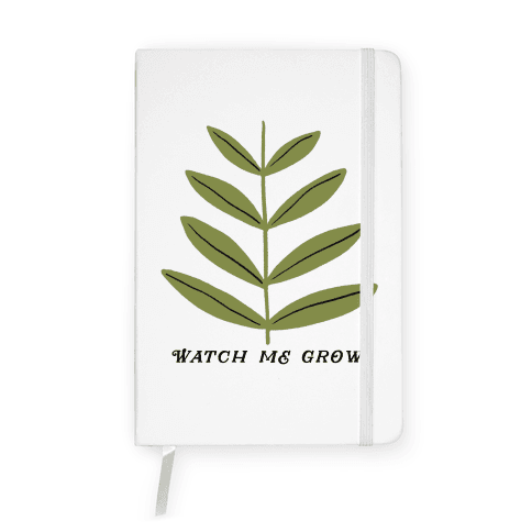 Watch Me Grow Plant Notebook