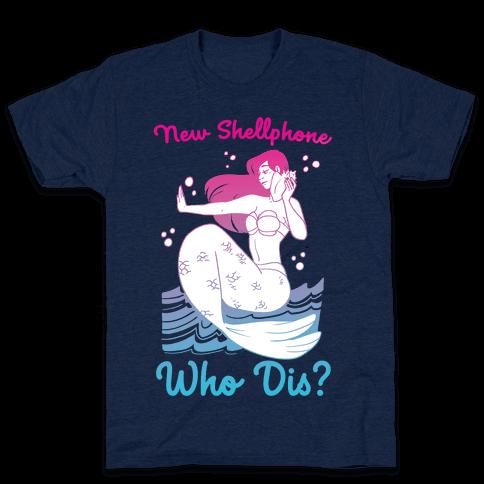 New Shellphone, Who Dis Mens T-Shirt