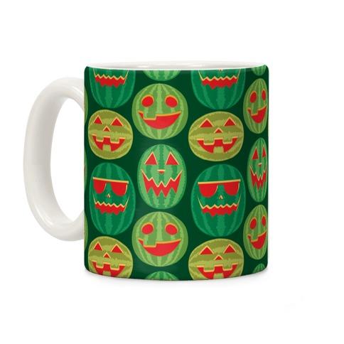 Jack-o-Melon Pattern Coffee Mug