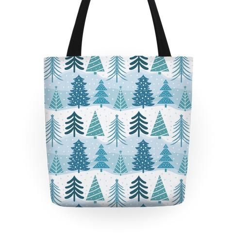 Christmas Tree Pattern Tote