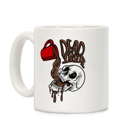 Dead Inside Skull & Coffee  Coffee Mug