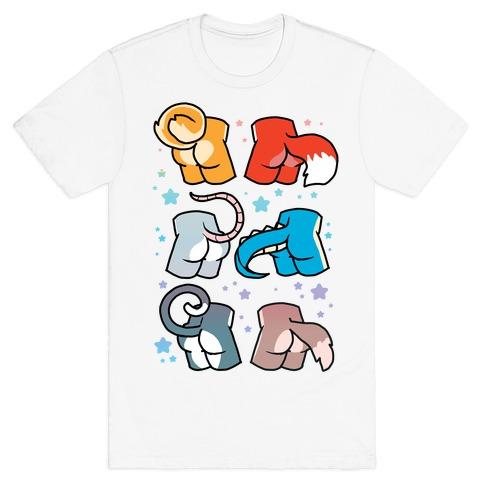 Assorted Furry Butts T-Shirt