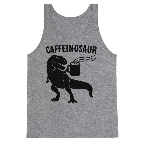 Caffeinosaur Tank Top