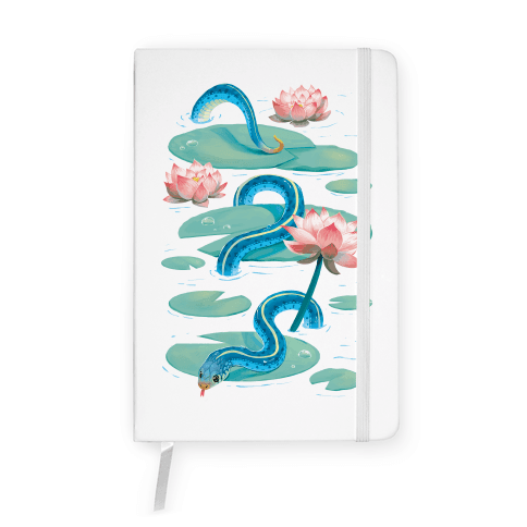 Garter Among Lily Pads Notebook