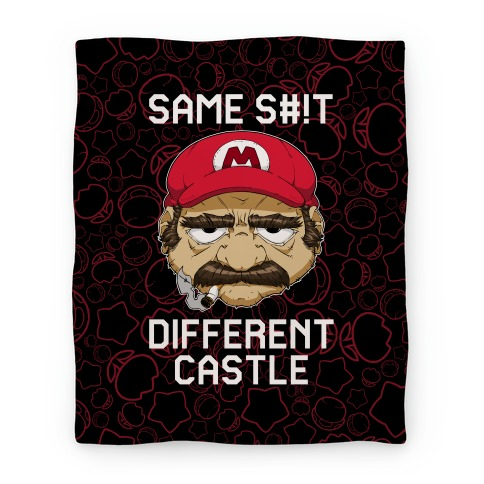 Same S#!t Different Castle Blanket