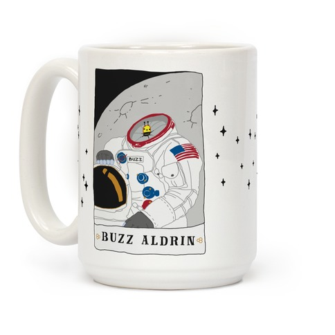 Buzz Aldrin Bee Coffee Mug