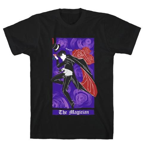 Tuxedo Mask The Magician Tarot Card T-Shirt