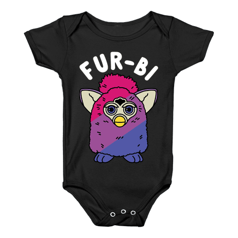 Fur-bi Bisexual Furby Baby Onesy