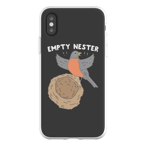 Empty Nester Happy Robin Phone Flexi-Case