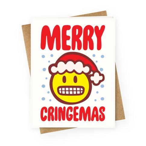 Merry Cringemas Parody Greeting Card