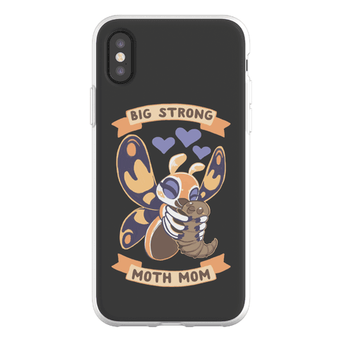 Big Strong Moth Mom Mothra Phone Flexi-Case