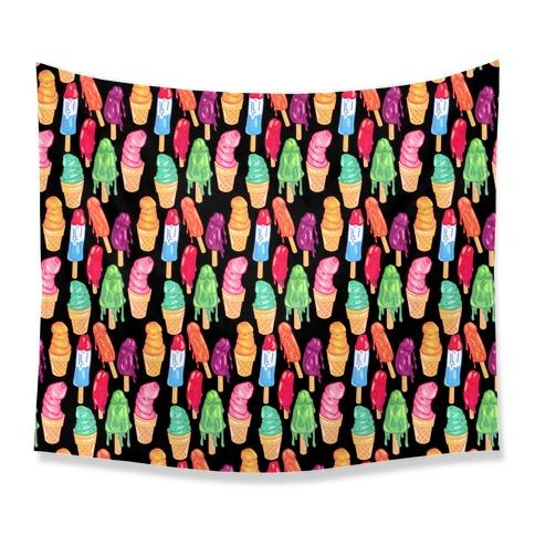Popsicle Penises Tapestry