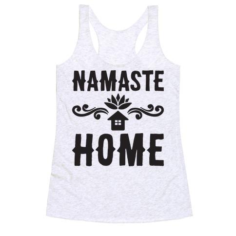 Namaste Home Racerback Tank Top