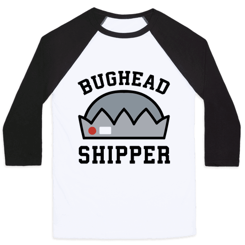 Bughead Shipper  Baseball Tee