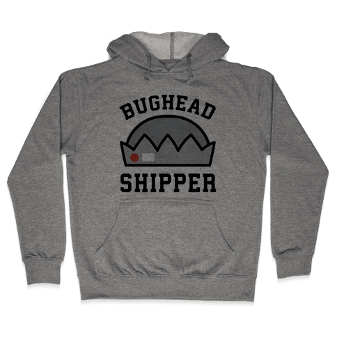 Bughead Shipper  Hooded Sweatshirt